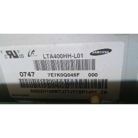 "BLOQUE PANTALLA LCD PANEL 40"" LTA400HH-L01 PARA TV SAMSUNG LE40F86BD - RECUPERADO"