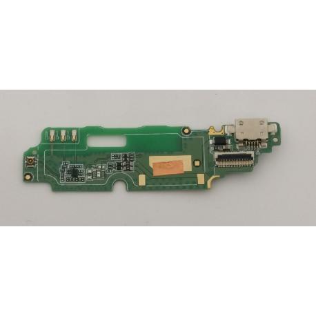 MODULO CONECTOR ANTENA CON MICROFONO ORIGINAL PARA ALCATEL POP 4  5051D - RECUPERADO