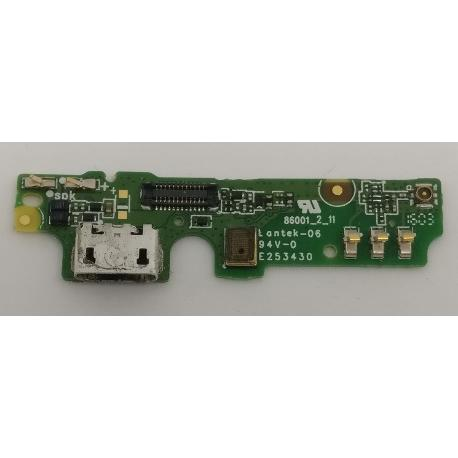 MODULO CONECTOR DE CARGA ORIGINAL PARA ALCATEL POP UP 6044 - RECUPERADA