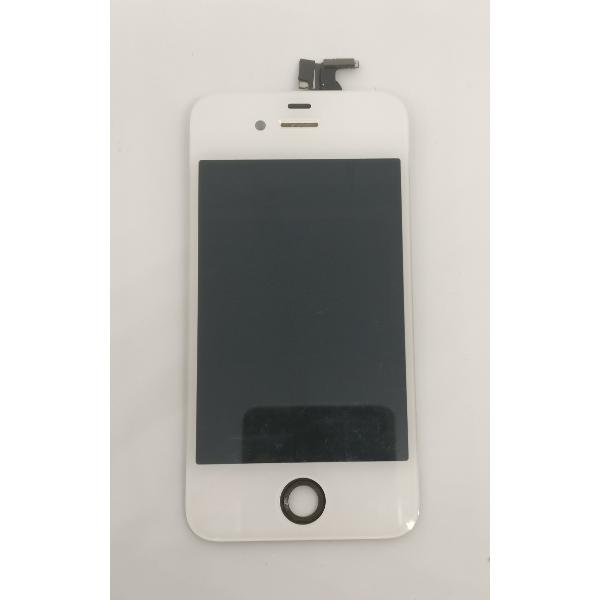 PANTALLA LCD DISPLAY + TACTIL BLANCA ORIGINAL PARA IPHONE 4 - RECUPERADA