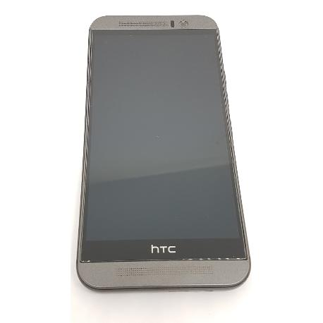 PANTALLA TACTIL + LCD DISPLAY CON MARCO PARA HTC ONE M9 NEGRO - RECUPERADA