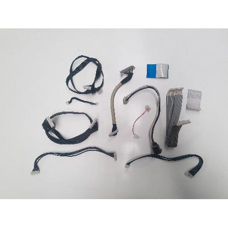 SET DE CABLE + ENTRADA DE CORRIENTE PARA TV PHILIPS 32PFL5522D/12 - RECUPERADOS
