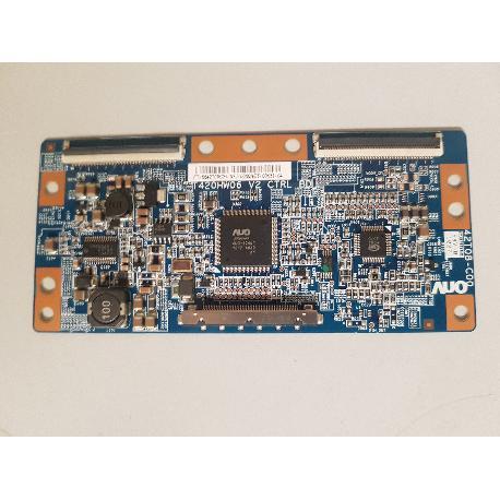 PLACA T-CON BOARD T420HW06 V2 CTRL BD PARA TV LG 42LE4500 - RECUPERADA