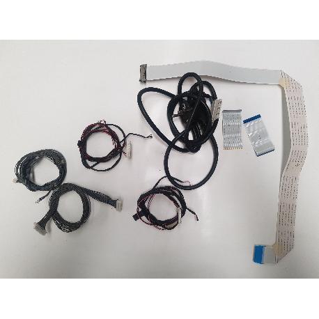 SET DE CABLE + CABLE DE CORRIENTE PARA TV LG 42LE4500 - RECUPERADOS