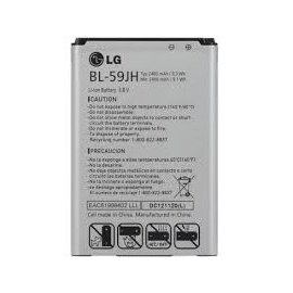 Bateria Original BL-59JH para LG P710 Optimus L7 II / D505 Optimus F6 de 2460mAh
