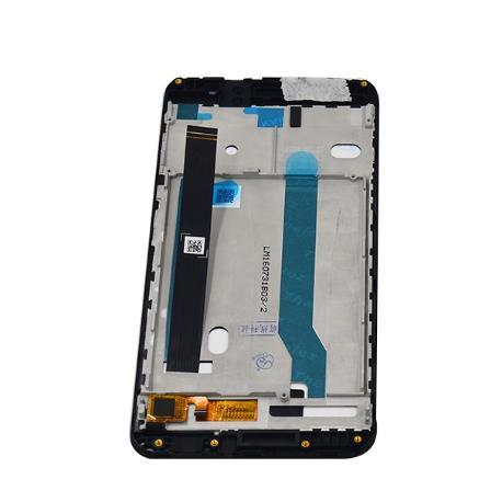 PANTALLA LCD DISPLAY + TACTIL CON MARCO PARA ASUS ZENFONE 3 MAX ZC520TL - NEGRA