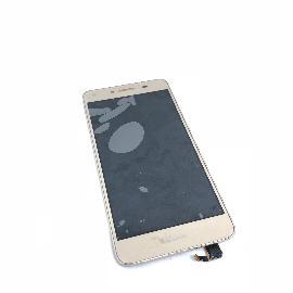 PANTALLA LCD DISPLAY + TACTIL CON MARCO PARA HUAWEI Y5 II CUN-L01, CUN-L23, CUN-L33 - ORO