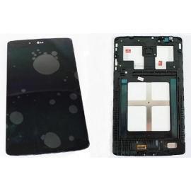 PANTALLA TACTIL + LCD DISPLAY CON MARCO ORIGINAL TABLET LG PAD 8.0 V490, V480 - NEGRA