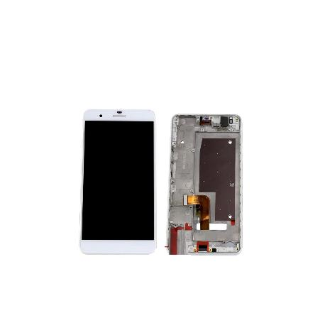 PANTALLA LCD DISPLAY + TACTIL CON MARCO HUAWEI HONOR 6 - BLANCO