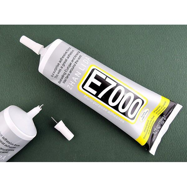 GLUE E7000 110ML - PEGAMENTO IMPERMEABLE PARA TACTIL, LCD