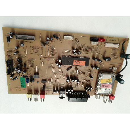 PLACA BASE MAIN BOARD 17MB21-1 PARA TV ELECTRION LCD19752 - RECUPERADA