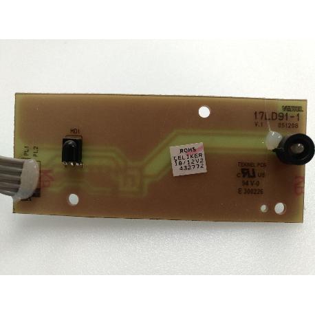 MODULOS RECEPTRO IR 17LD91-1 PARA TV ELECTRION LCD19752 - RECUPERADO