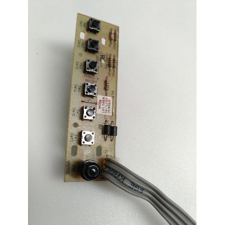 MODULO DE BOTONES 17TK13-8 PARA TV ELECTRION LCD19752 - RECUPERADO