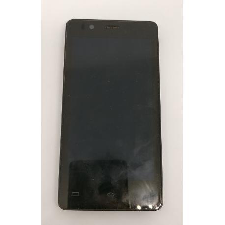 PANTALLA LCD DISPLAY + TACTIL CON MARCO ORIGINAL PARA BQ AQUARIS E4.5 - RECUPERADA