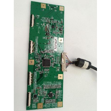 PLACA T-CON BOARD 22000004601 PARA TV SAIVOD LCD-626CI-E - RECUPERADA