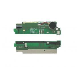 Modulo Placa Inferior Microfono + Vibrador Original Sony Xperia M2 D2303 D2305 D2306