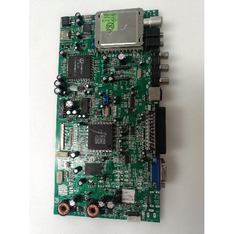 PLACA BASE MAIN BOARD SS:0701007179 PARA TV KIAMO LCD2006WXTK - RECUPERADA