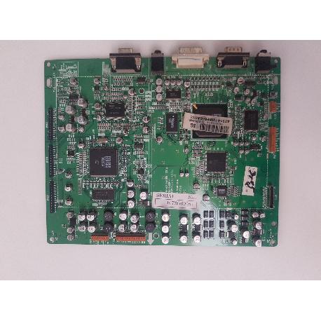 PLACA BASE MAIN MOTHER BOARD 6870VM0481D(3) PARA TV LG PDP42V6000 - RECUPERADA