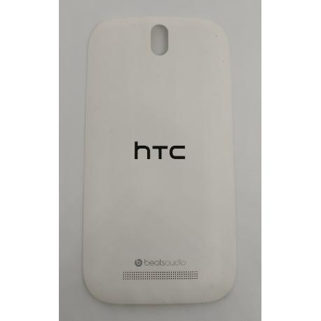 TAPA TRASERA ORIGINAL PARA HTC ONE SV BLANCA - RECUPERADA