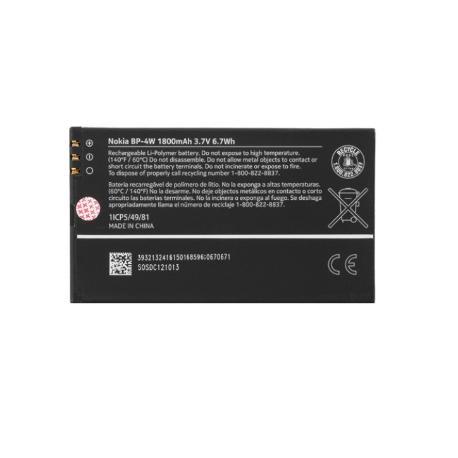 BATERIA BP-4W ORIGINAL PARA NOKIA LUMIA 810 /822 - 1800MAH