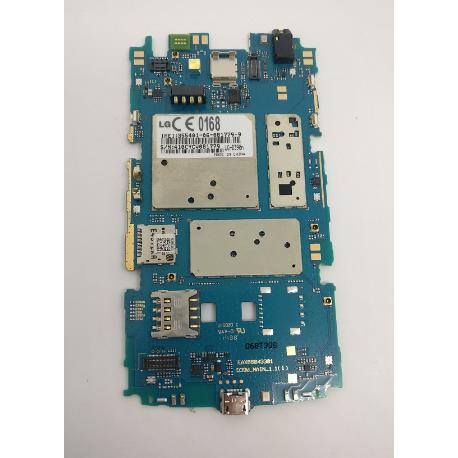 PLACA BASE ORIGINAL LG OPTIMUS F60 D390N - RECUPERADA
