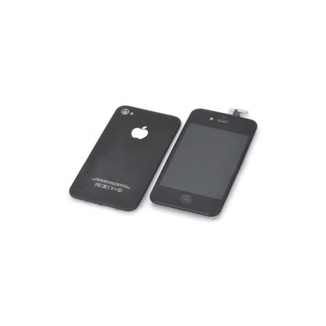 Cambia tu iphone 4 a NEGRO con este kit