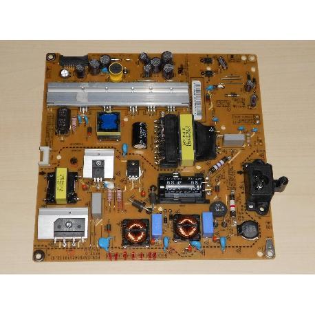 PLACA FUENTE DE ALIMENTACION POWER SUPPLY PARA TV LG 42LB5610 EAX65423701 (2.1)