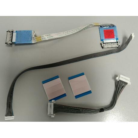 SET 1 DE CABLES DE TV LG42LB5610 PARA T-CON BOARD T420HNV06.1