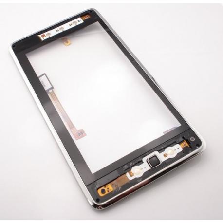 Pantalla Tactil + Marco Original Huawei Ideos S7 Negra