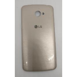 TAPA TRASERA ORIGINAL PARA LG K5 X220DS ORO - RECUPERADA