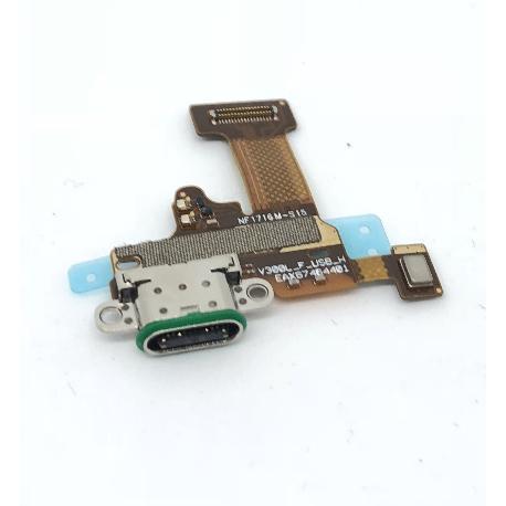 MODULO CONECTOR DE CARGA USB TIPO-C Y MICROFONO PARA LG H930 V30