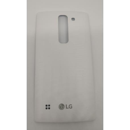 TAPA TRASERA LG SPIRIT H420 4G LTE  BLANCA - RECUPERADA