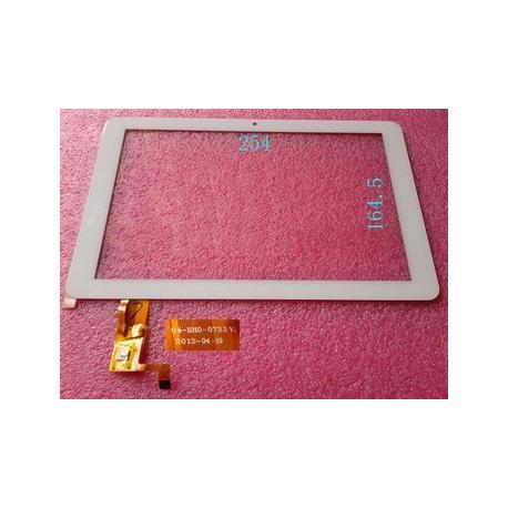 """Pantalla Tactil Universal Tablet china 10.1"""" 04-1010-0732 V1 BLANCA"""