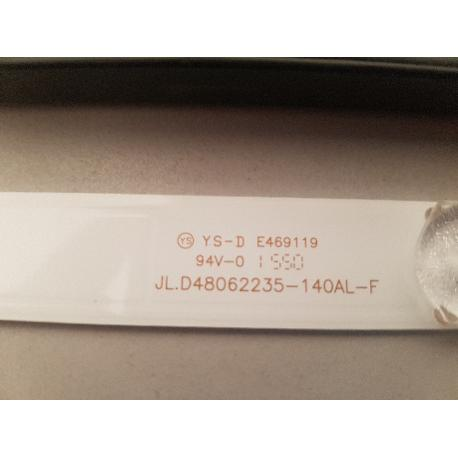 TIRA LED JL.D48062235-140AL-F PARA TV TD SYSTEMS K48DLT3F - RECUPERADA