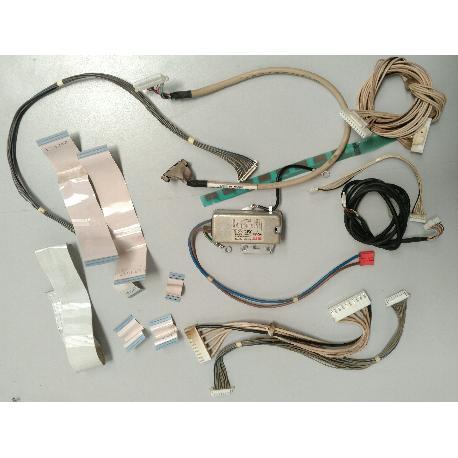 SET DE CABLES PARA TV LG 50PJ350-ZA - RECUPERADOS