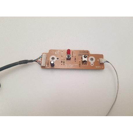 PLACA SENSOR IR + POWER BOTTON BN41-00685A PARA TV SAMSUNG LE32R73BDX/XEC - RECUPERADA