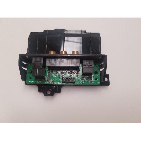 PLACA ENTRADA LATERAL AV BN41-00625A PARA TV SAMSUNG LE32R73BDX/XEC - RECUPERADA