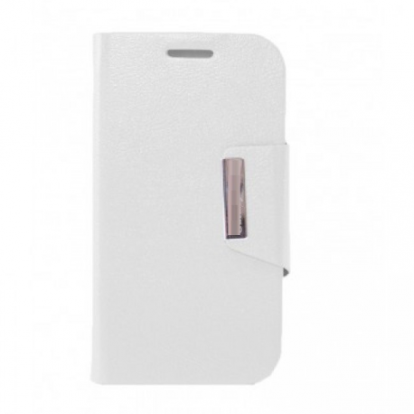 Funda Libro Alcatel Pop C7 blanca