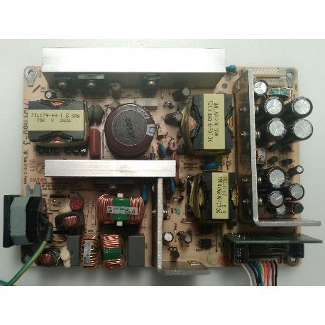 FUENTE DE ALIMENTACIÓN POWER SUPPLY 715T1180-3 PARA TV THOMSON 32LB30B5 - RECUEPRADA