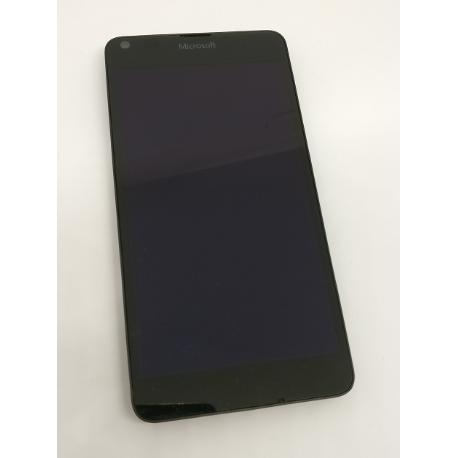 REPUESTO PANTALLA LCD + TACTIL CON MARCO ORIGINAL NOKIA LUMIA 640 - RECUPERADA