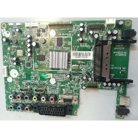 PLACA BASE MAIN BOARD LS18 JUG7.820.886-2 PARA TV OKI B22E-LED1 - RECUPERADA