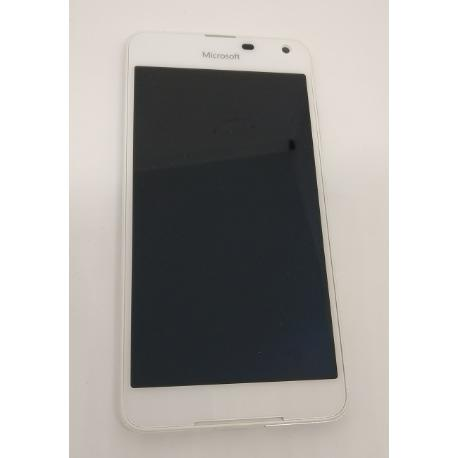 PANTALLA LCD DISPLAY + TACTIL CONMARCO ORIGINAL PARA MOKIA LUMIA 650 RM-1152 - BLANCA
