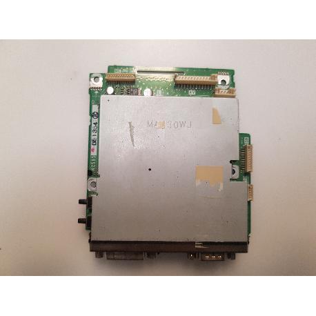 PLACA ENTRADA DE VIDEO VGA + DVI XC595WJ PARA TV SHARP LC-32GA4E - RECUPERADA