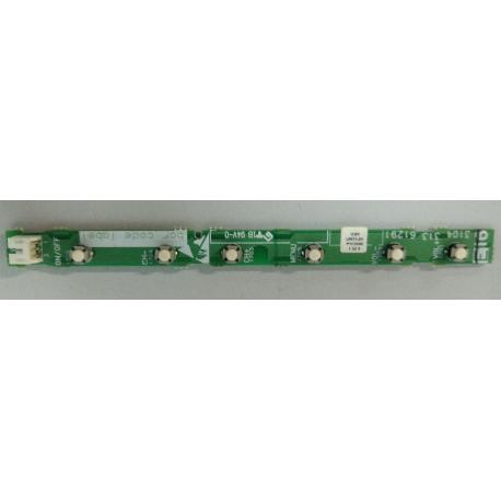 PLACA BOTONERA 3104 313 61291 PARA TV PHILIPS 42PF3321/10 - RECUPERADA