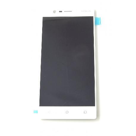 PANTALLA LCD DISPLAY + TACTIL PARA NOKIA 3 - BLANCA