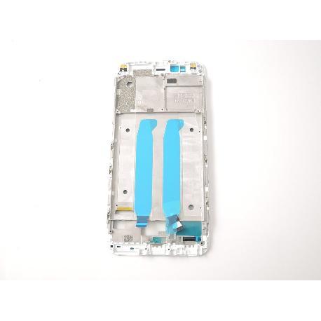 CARCASA FRONTAL DE LCD PARA XIAOMI MI5X, MIA1, MI A1 - BLANCA