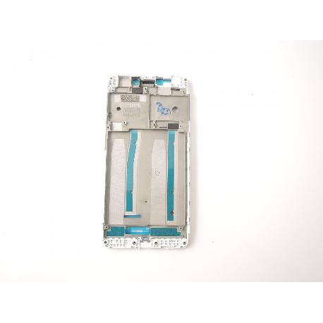 CARCASA FRONTAL DE LCD PARA XIAOMI REDMI 4A - BLANCA