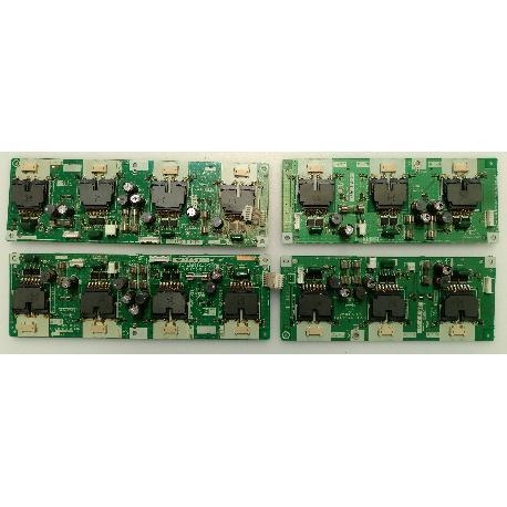 SET DE TABLEROS INVERTED KC020DE KC019DE KB955DE KB956DE PARA TV LOEWE SPHEROS 37HD - RECUPERADOS