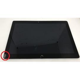 PANTALLA LCD + TACTIL CON MARCO ORIGINAL TABLET BQ AQUARIS M10 HD NEGRA - RECUPERADA