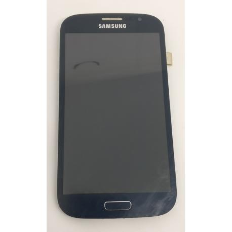 PANTALLA LCD + TACTIL ORIGINAL SAMSUNG GALAXY GRAND DUOS I9082 AZUL OSCURO - RECUPERADA